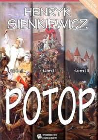 Potop. Tom 1-3 - Sienkiewicz Henryk