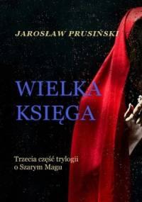 Wielka księga. Szary mag. Tom 3 - Prusiński Jarosław