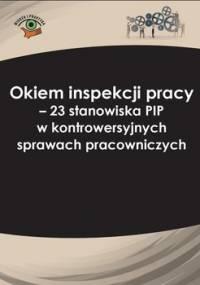 Okiem inspekcji pracy. 23 stanowiska PIP w kontrowersyjnych sprawach pracowniczych - Pietruszyńska Katarzyna, Kaleta Joanna