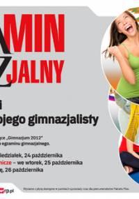 Egzamin gimnazjalny GIMNAZJUM 2012 - Rzeczpospolita