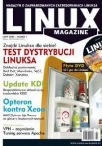 Linux Magazine - Numery z roku 2004-2005