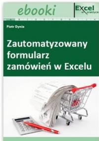 Zautomatyzowany formularz zamówień w Excelu - Dynia Piotr