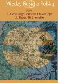 Między Rusią a Polską. Litwa. Od Wielkiego Księstwa Litewskiego do Republiki Litewskiej - Grzybowski Jerzy, Kozłowska Joanna