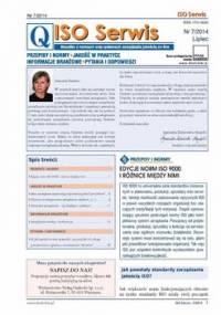 ISO Serwis. Wszystko o normach i systemach zarządzania jakością. Nr 7/2014 - Opracowanie zbiorowe