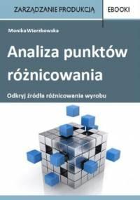 Analiza punktów różnicowania - Wierzbowska Monika