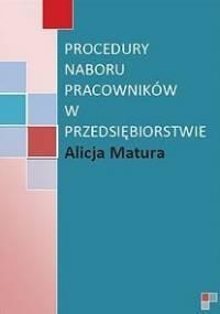 Procedury naboru pracowników - Matura Alicja