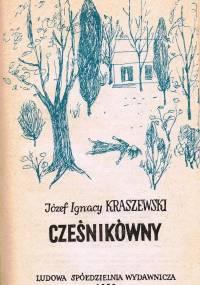 Józef Ignacy Kraszewski - Cześnikówny [audiobook pl]