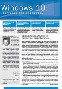 Windows 10 perfekcyjnie opanowany - Janus Rafał
