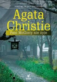 Pani McGinty nie żyje. Herkules Poirot. Tom 28 - Christie Agatha