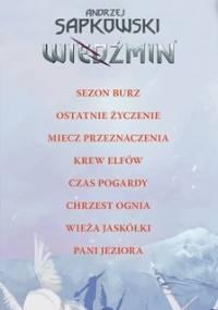 Pakiet: Wiedźmin. Tom 1-8 - Sapkowski Andrzej