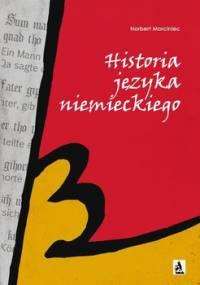 Historia języka niemieckiego - Morciniec Norbert