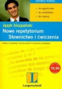 Langenscheidt - Język Hiszpański. Nowe Repetytorium. Słownictwo i ćwiczenia