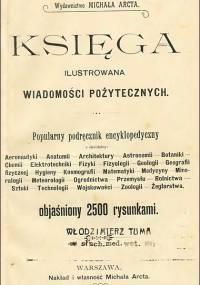 Księga Wiadomości Pożytecznych (1899)