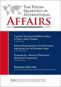 The Polish Quarterly of International Affairs 3/2013 - Zaborowski Marcin, Rękawek Kacper