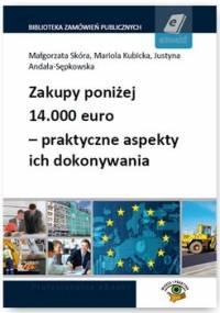 Zakupy poniżej 14.000 euro – praktyczne aspekty ich dokonywania - Skóra Małgorzata