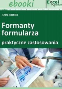 Formanty formularza w praktycznych zastosowaniach - Opracowanie zbiorowe