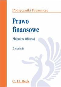 Prawo finansowe - Ofiarski Zbigniew