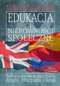 Edukacja i nierówności społeczne - Gmerek Tomasz