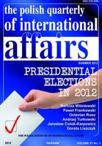 The Polish Quarterly of International Affairs 3/2012 - Zaborowski Marcin, Rękawek Kacper