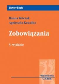 Zobowiązania - Kawałko Agnieszka, Witczak Hanna