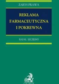 Reklama farmaceutyczna i pokrewna - Szczęsny Rafał
