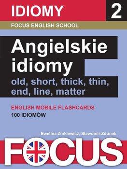 Focus. Angielskie idiomy. Zestaw 2 - Zinkiewicz Ewelina, Zdunek Sławomir