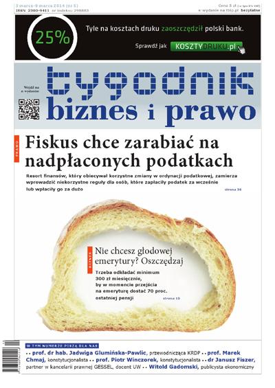 Tygodnik Biznes i Prawo 5/2014