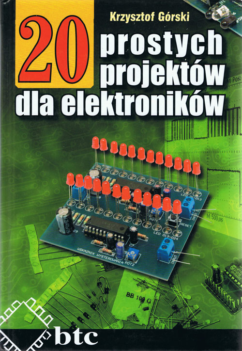 20 prostych projektów dla elektroników [PDF]