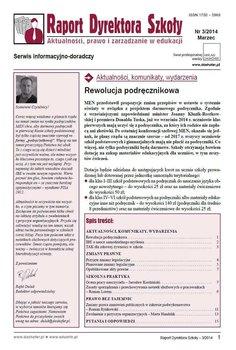 Raport dyrektora szkoły - Rynkowski Ryszard, Handzlik Marta, Lorens Roman, Kordziński Jarosław, Wichrowska-Janikowska Elżbieta