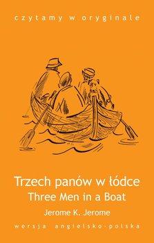 Three Men in a Boat / Trzech panów w łódce - Jerome Jerome Klapka