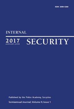 Internal Security (January-June 2017) Vol. 9/1/2017 - Opracowanie zbiorowe