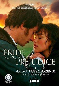 Pride and Prejudice. Duma i uprzedzenie w wersji do nauki angielskiego - Austen Jane, Fihel Marta, Jemielniak Dariusz, Komerski Grzegorz