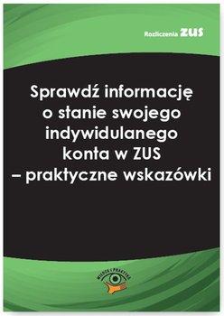 Sprawdź informację o stanie swojego indywidulanego konta w ZUS. Praktyczne wskazówki - Karczewska Monika