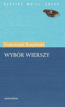 Wybór wierszy - Karpiński Franciszek, Chojowska Anna