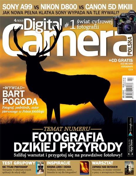 Digital Camera Polska 04/2013 + Płyta CD (ISO)