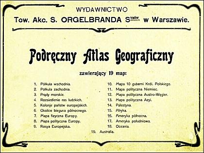 Podręczny Atlas Geograficzny (1914)