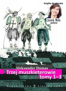 Trzej Muszkieterowie. Tom 1-3 - Dumas Aleksander