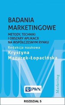 Badania marketingowe. Metody, techniki i obszary aplikacji na współczesnym rynku. Rozdział 5 - Mazurek-Łopacińska Krystyna