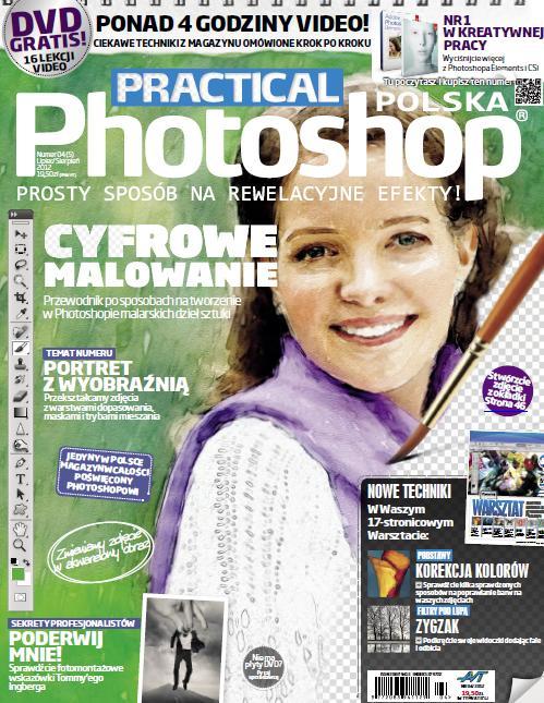 Practical Photoshop Polska 07/08/2012 + Płyta DVD