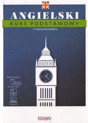 Edgard - Angielski Kurs Podstawowy. Wydanie III. Książka + MP3 + Program