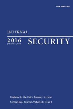 Internal Security (January-June) Vol. 8/1/2016 - Opracowanie zbiorowe