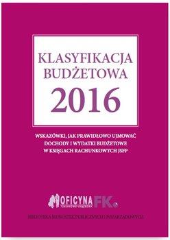 Klasyfikacja budżetowa 2016 - Gaździk Elżbieta