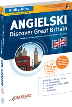 EDGARD - Angielski: Discover Great Britain [Audiokurs MP3]