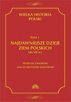 Najdawniejsze dzieje ziem polskich do VII w. Wielka historia Polski. Tom 1 - Kaczanowski Piotr, Kozłowski Janusz Krzysztof