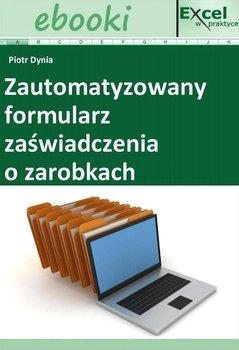 Zautomatyzowany formularz zaświadczenia o zarobkach - Opracowanie zbiorowe