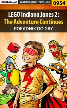 LEGO Indiana Jones 2: The Adventure Continues - poradnik do gry - Basta Michał Wolfen