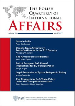 The Polish Quarterly of International Affairs, no 1/2017 - Opracowanie zbiorowe