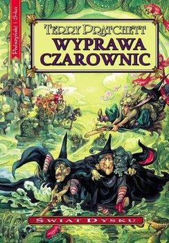 Wyprawa czarownic. Świat Dysku. Tom 12 - Pratchett Terry