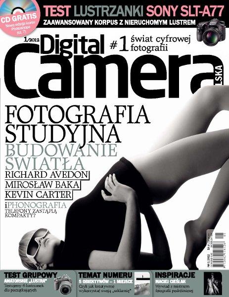 Digital Camera Polska 01/2012 + Płyta CD