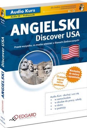 EDGARD - Angielski: Discover USA [Audiokurs MP3]